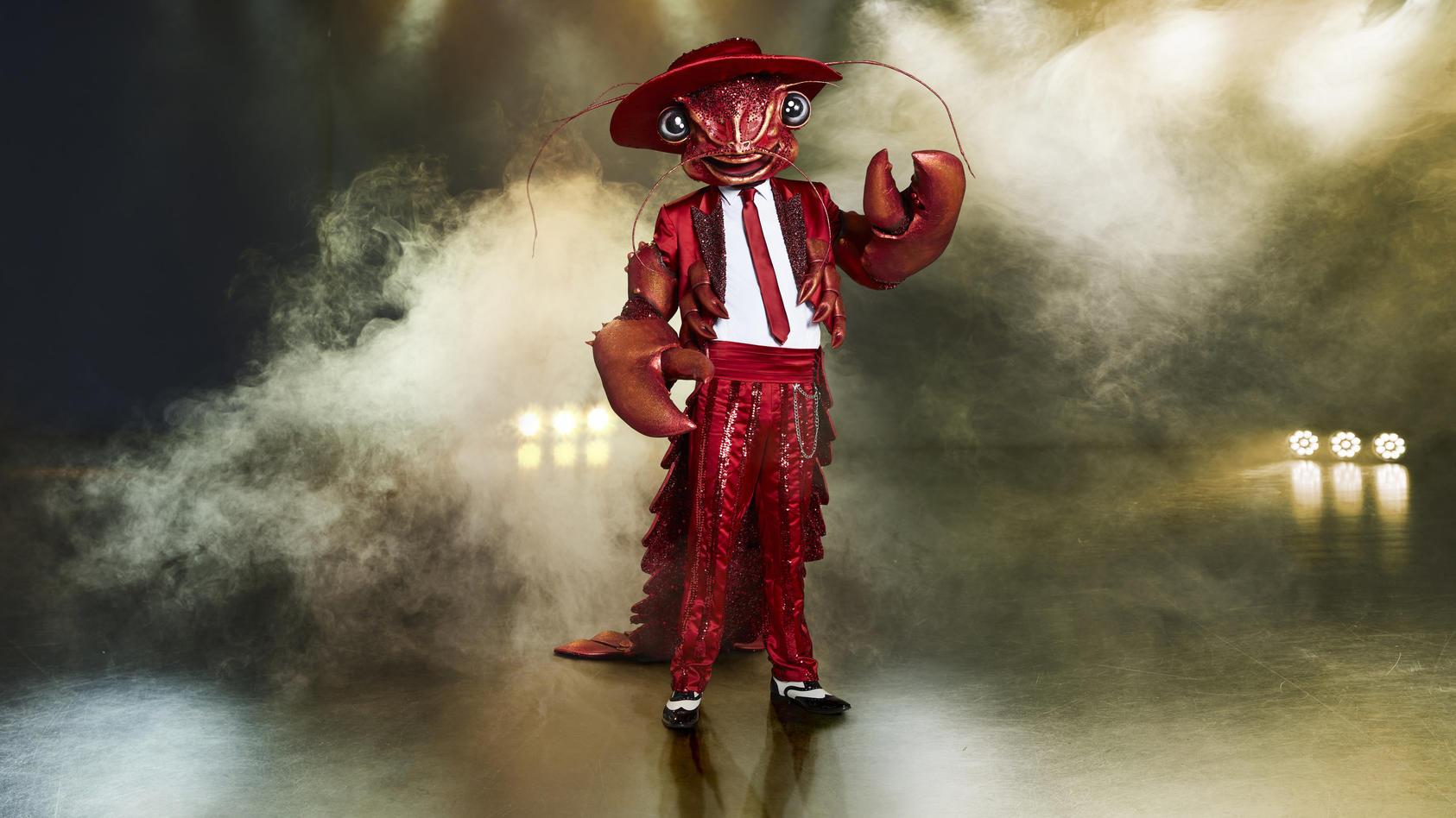 """Der Hummer ist schon jetzt ein Favorit unter den """"The Masked Singer""""-Fans."""