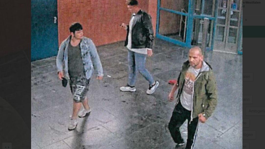 Polizei Dortmund fahndet nach diesen Männern.