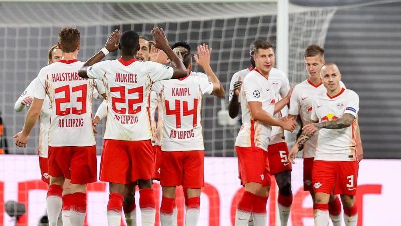 RB Leipzig hatte mit Istanbul Basaksehir keine großen Probleme. Foto: Jan Woitas/dpa-Zentralbild/dpa