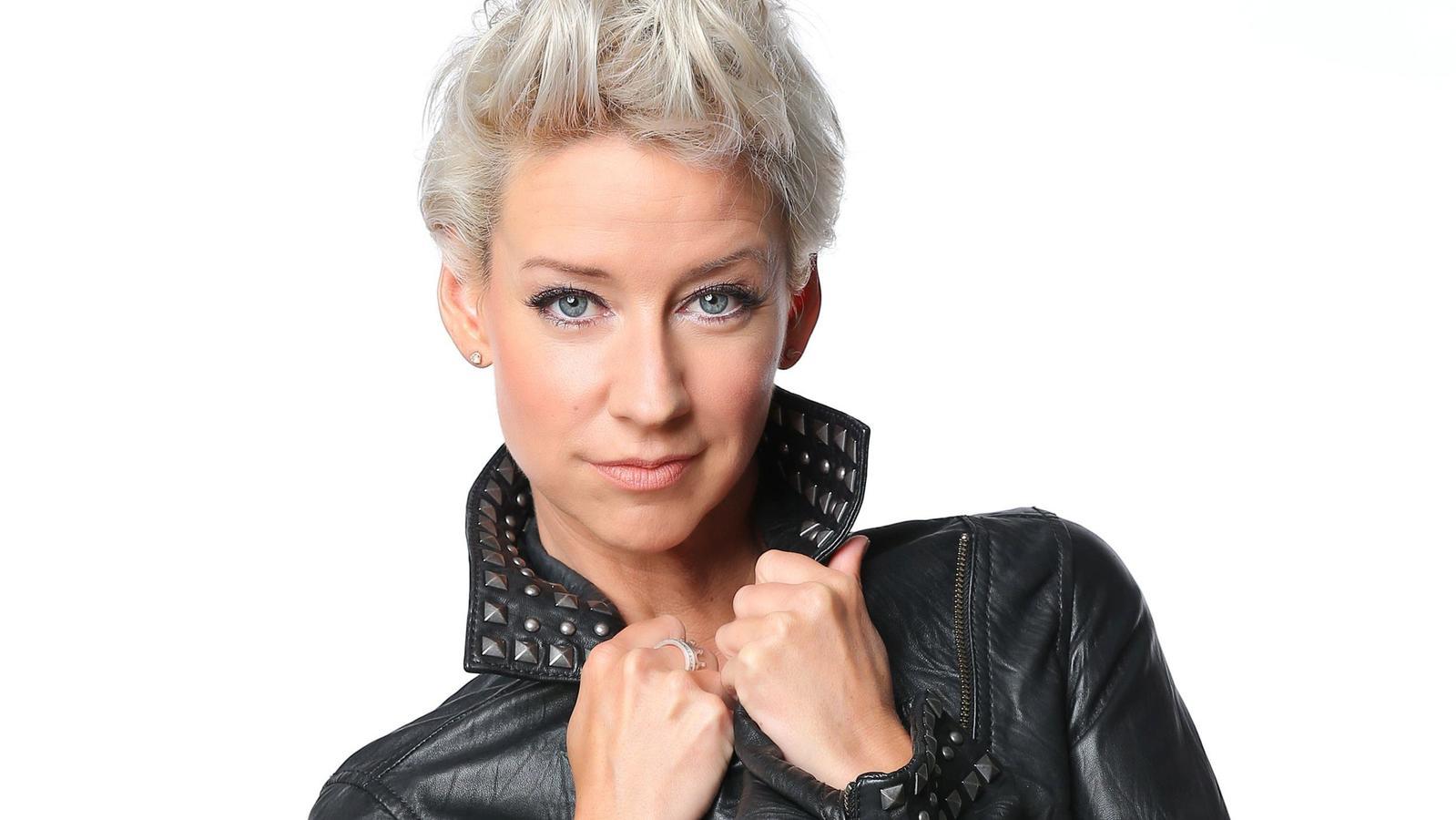 """Isabell Hertel spielt Ute Fink bei """"Unter uns""""."""