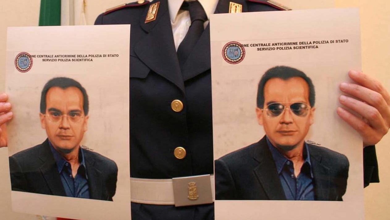 Die Polizei zeigte Phantombilder des sizilianischen Mafiaboss.