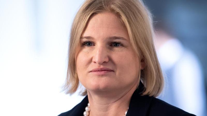 Katrin Ebner-Steiner (AfD), Vorsitzende der AfD-Fraktion im Bayerischen Landtag. Foto: Sven Hoppe/dpa/Archivbild