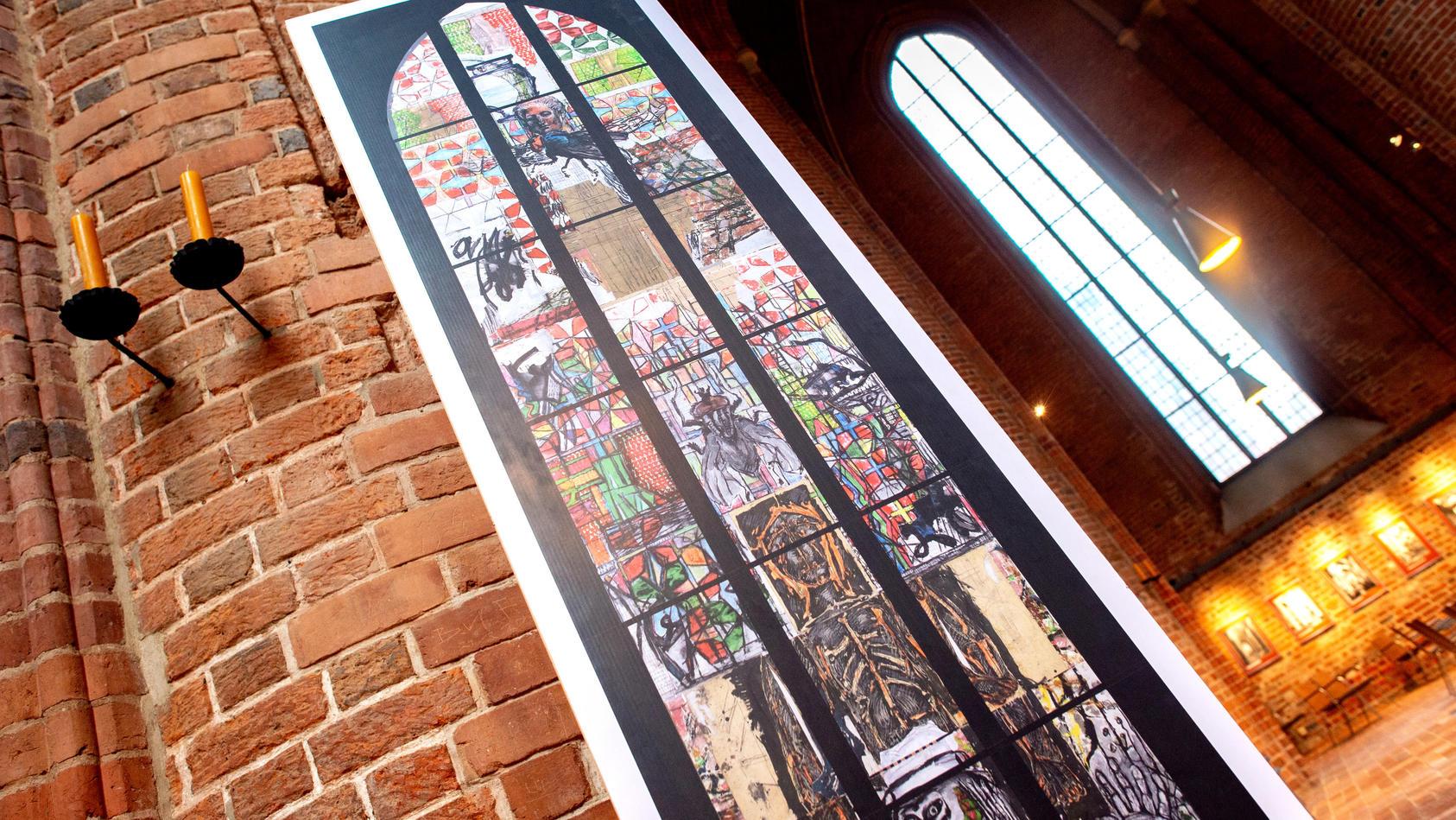 Ortstermin im Zivilprozess um Reformationsfenster