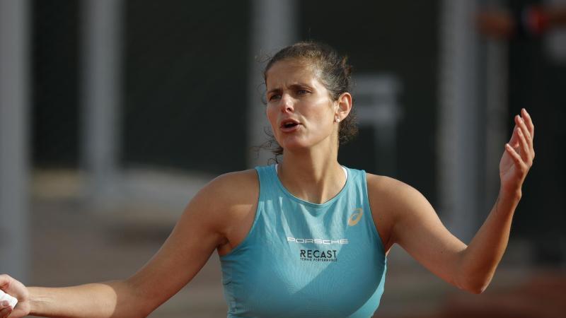 Beendet ihre aktive Tennis-Karriere: Julia Görges. Foto: Christophe Ena/AP/dpa