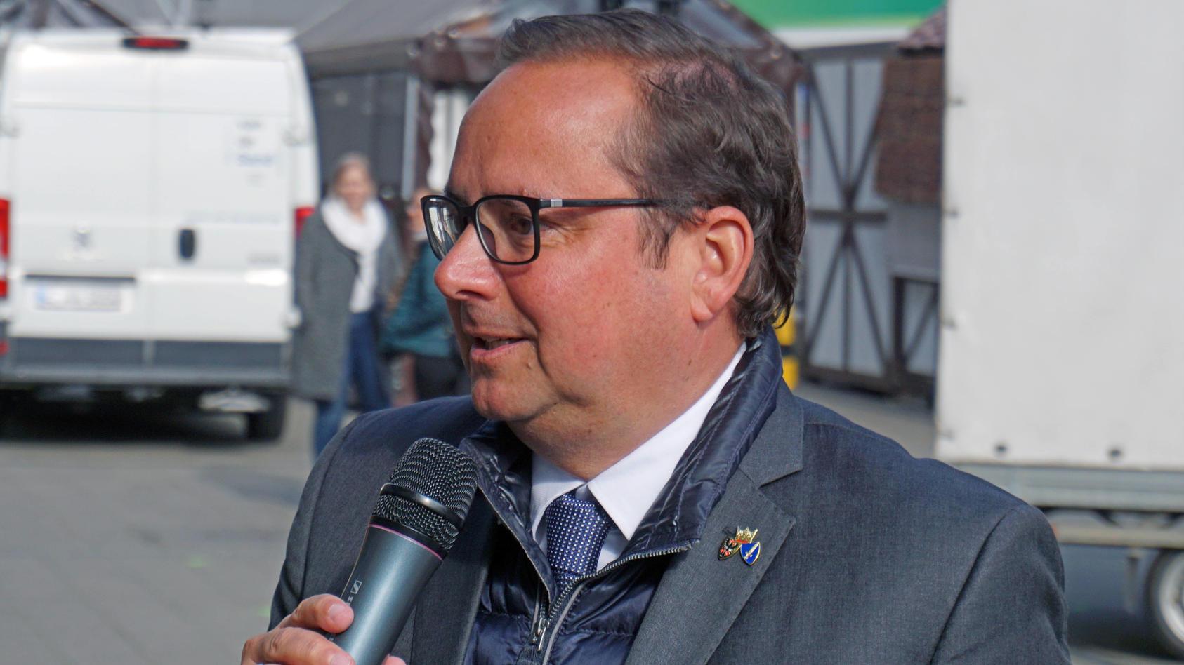 Essens Oberbürgermeister Thomas Kufen (CDU)