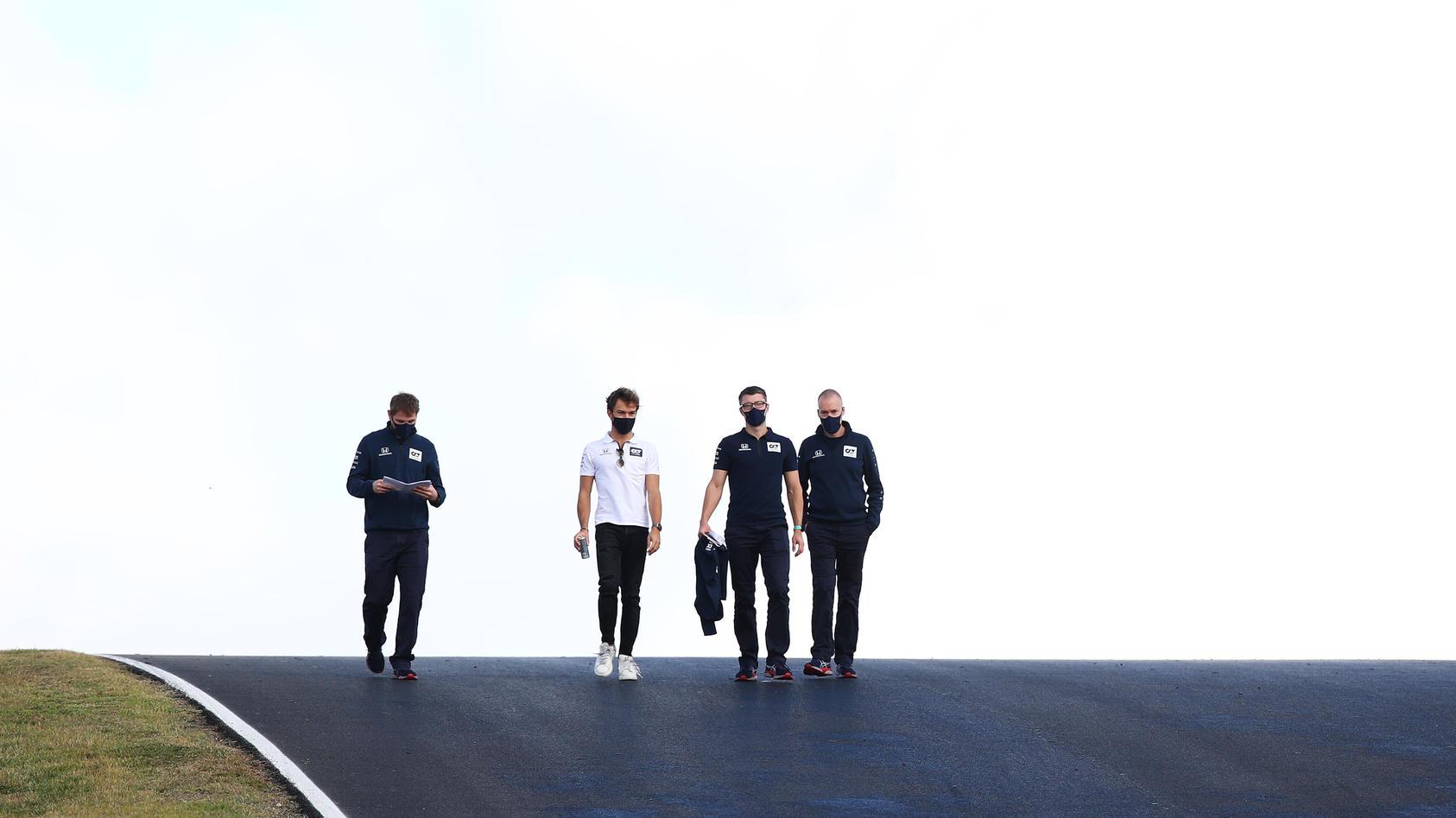 Auf der F1-Strecke in Portimao geht es hoch und runter