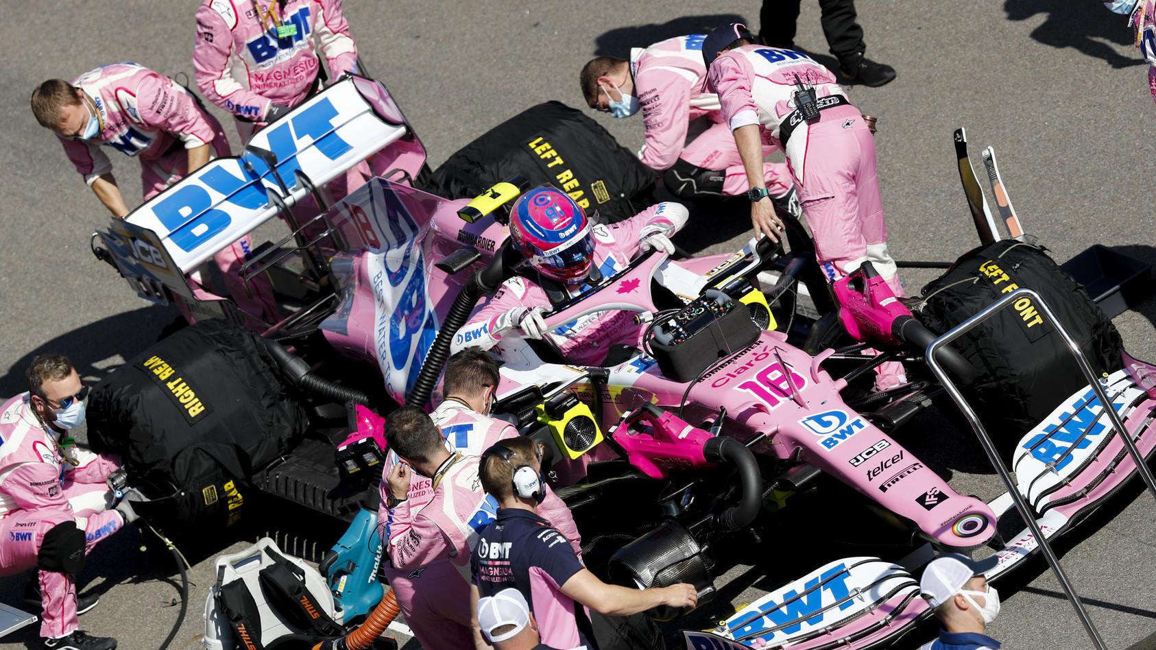 Ärger für Racing Point