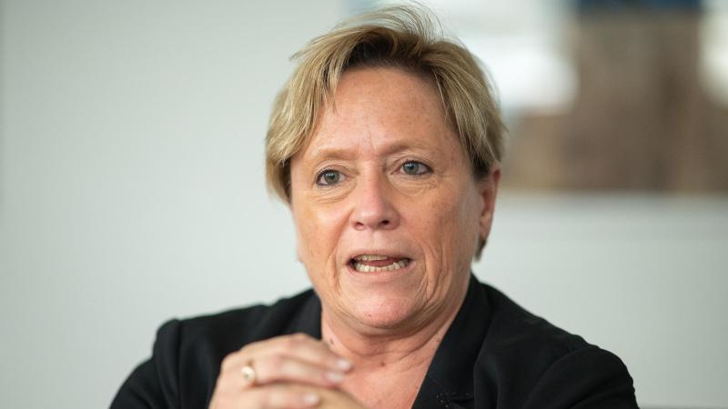 Baden-Württembergs Kultusministerin Susanne Eisenmann (CDU). Foto: Sebastian Gollnow/dpa/Archivbild