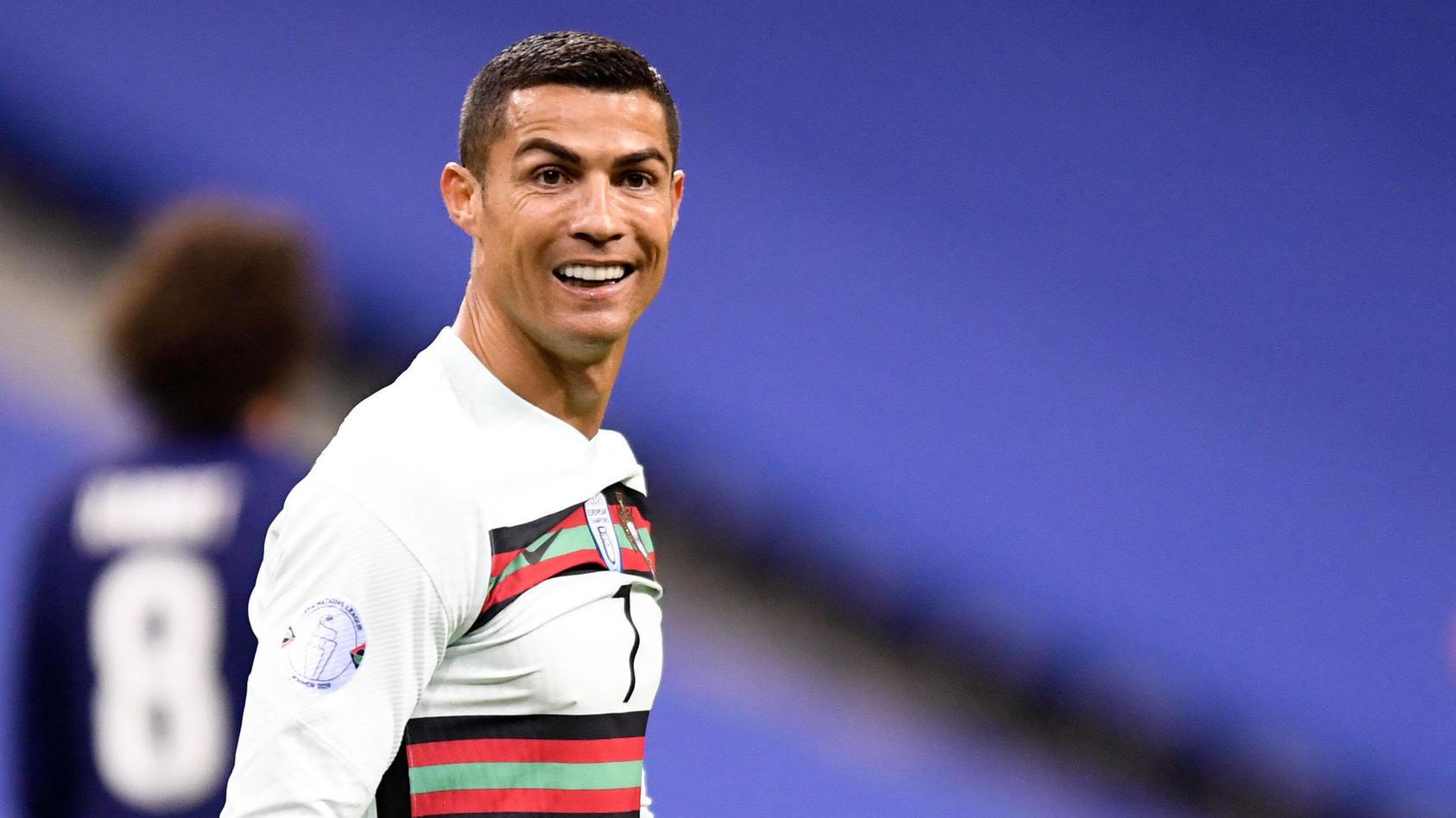 Cristiano Ronaldo im Trikot der portugiesischen Nationalmannschaft.