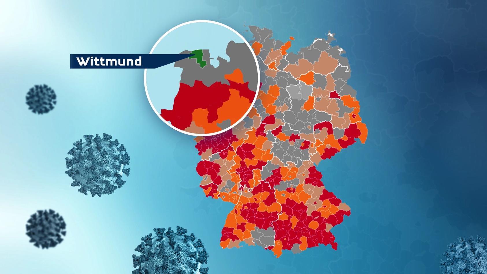 Landkarte: Wo liegt Wittmund