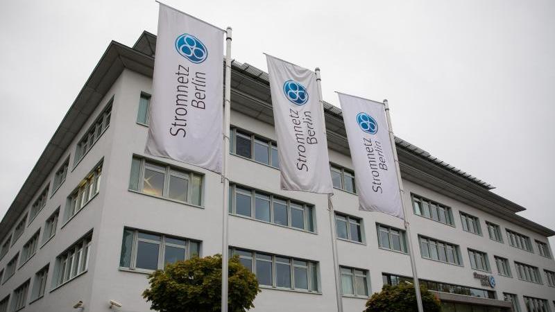 Der Hauptsitz der Stromnetz Berlin GmbH. Vattenfall bietet den Verkauf der Stromnetz Berlin GmbH an den Berliner Senat an. Foto: Christoph Soeder/dpa/Aktuell