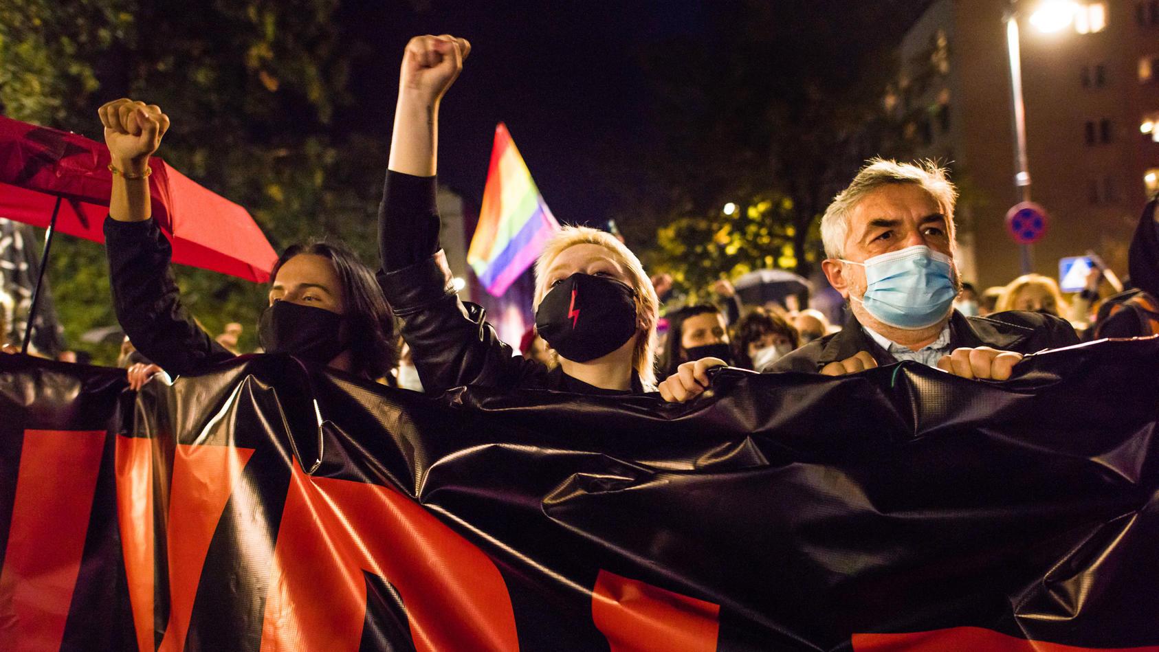 Verschärfung des Abtreibungsrechts in Polen hat zu Protesten geführt
