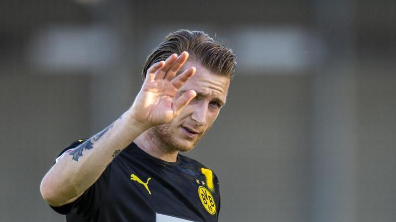 Marco Reus ist der Führungsspieler beim BVB. Foto: David Inderlied/dpa