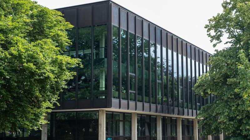 Blick auf das Leibniz-Informationszentrum Technik und Naturwissenschaften und Universitätsbibliothek (TIB). Foto: Peter Steffen/dpa/Archivbild