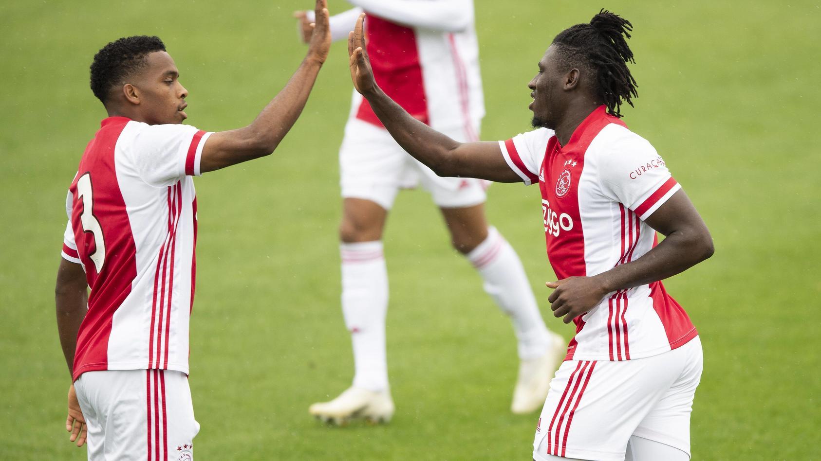 AMSTERDAM , 25-08-2020 , Sportpark de Toekomst , football, friendly testmatch, Season 2020-2021 , Ajax - Holstein Kiel