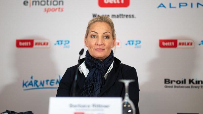 Barbara Rittner, Turnierdirektorin der Köln Championships (ATP). Foto: Jonas Güttler/dpa