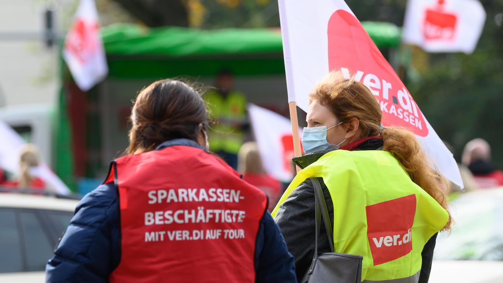 Warnstreiks im öffentlichen Dienst - Dresden