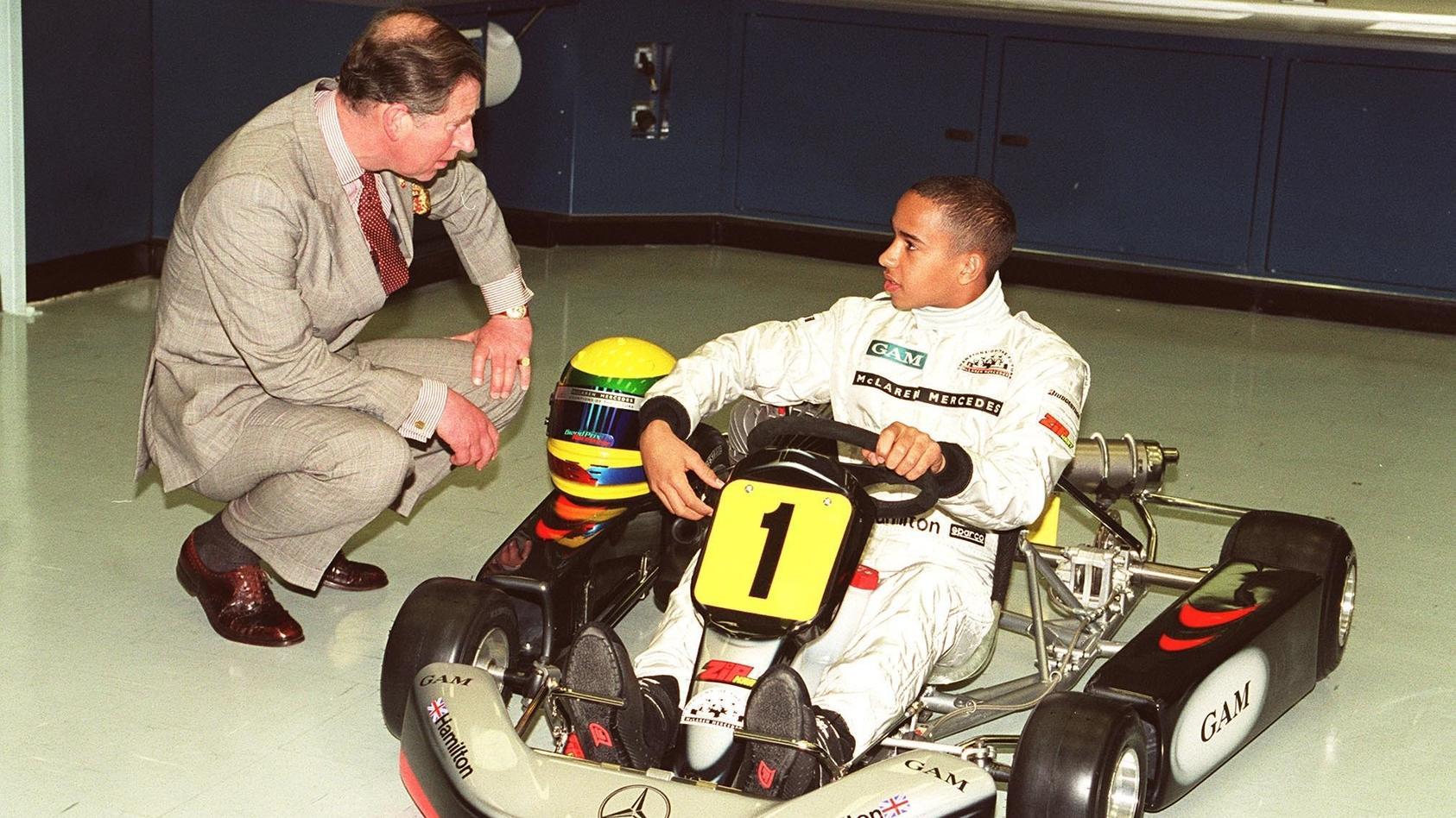 Lewis Hamilton: So begann die Weltkarriere der Formel-1-Legende