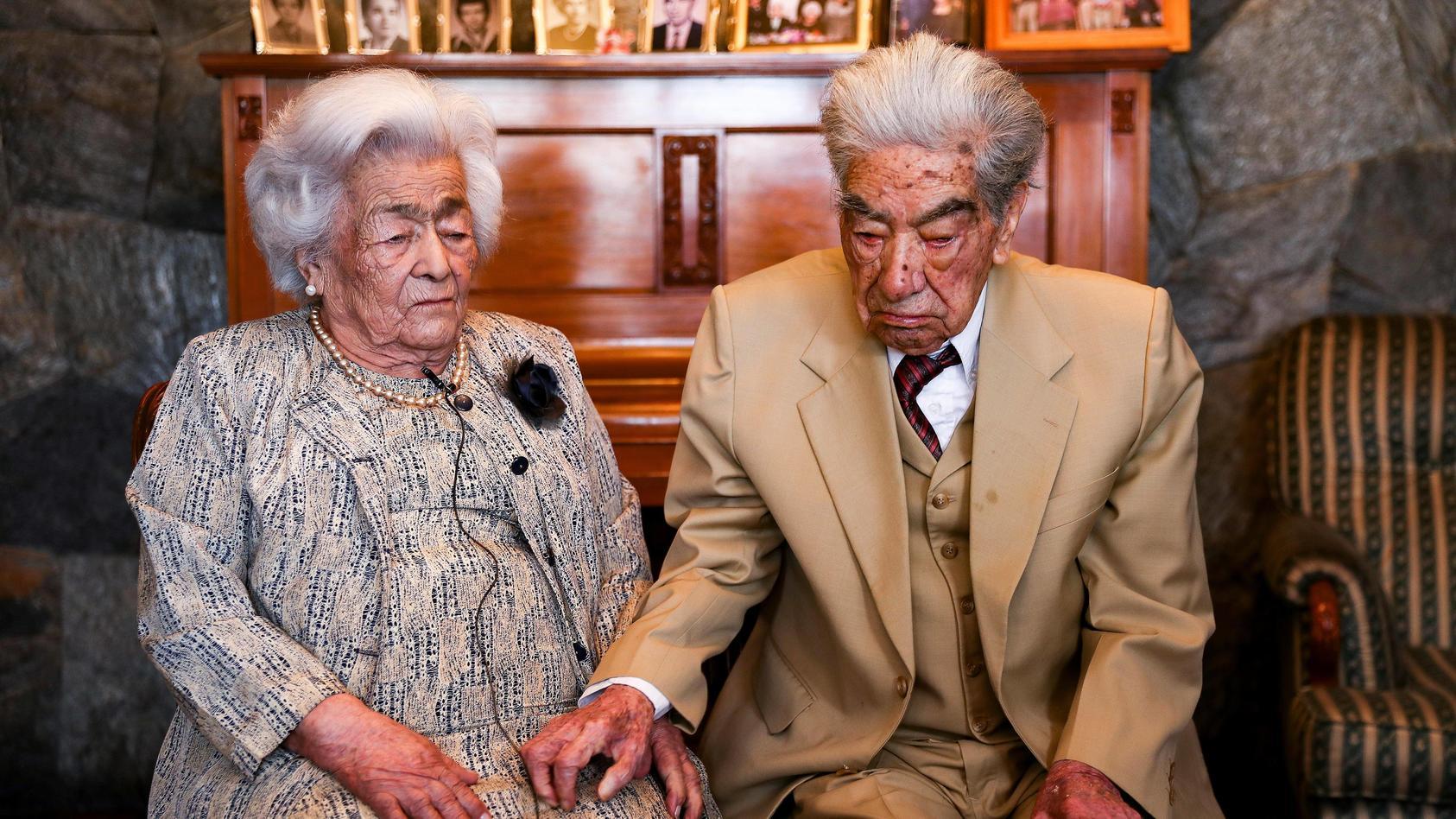 Erst im August 2020 wurden sie zum ältesten Ehepaar der Welt gekürt.