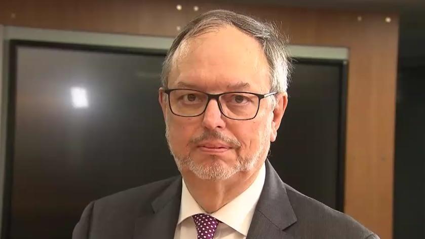 Bundeswahlleiter Dr. Georg Thiel im RTL-Frühstart