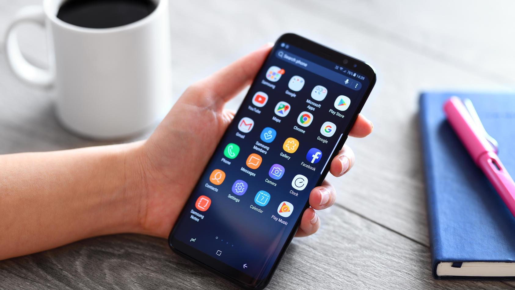 Bei älteren Samsung-Modellen laufen nach und nach die Updates aus.