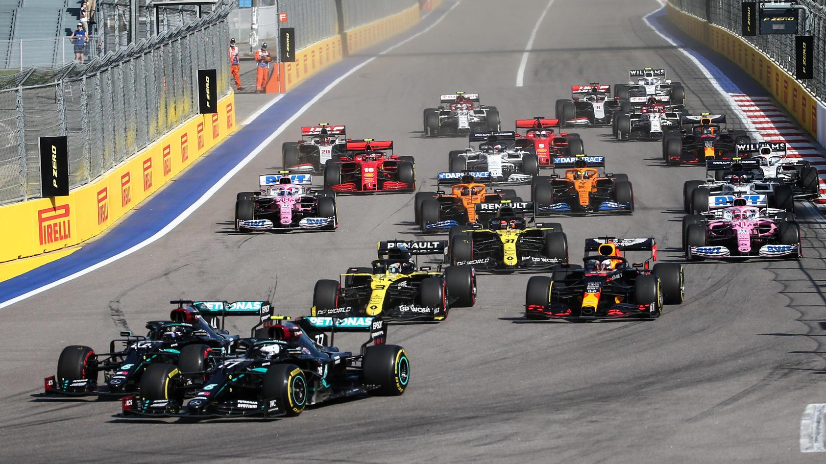 Formel 1: Die Rennserie plant mit maximal 23 Rennen