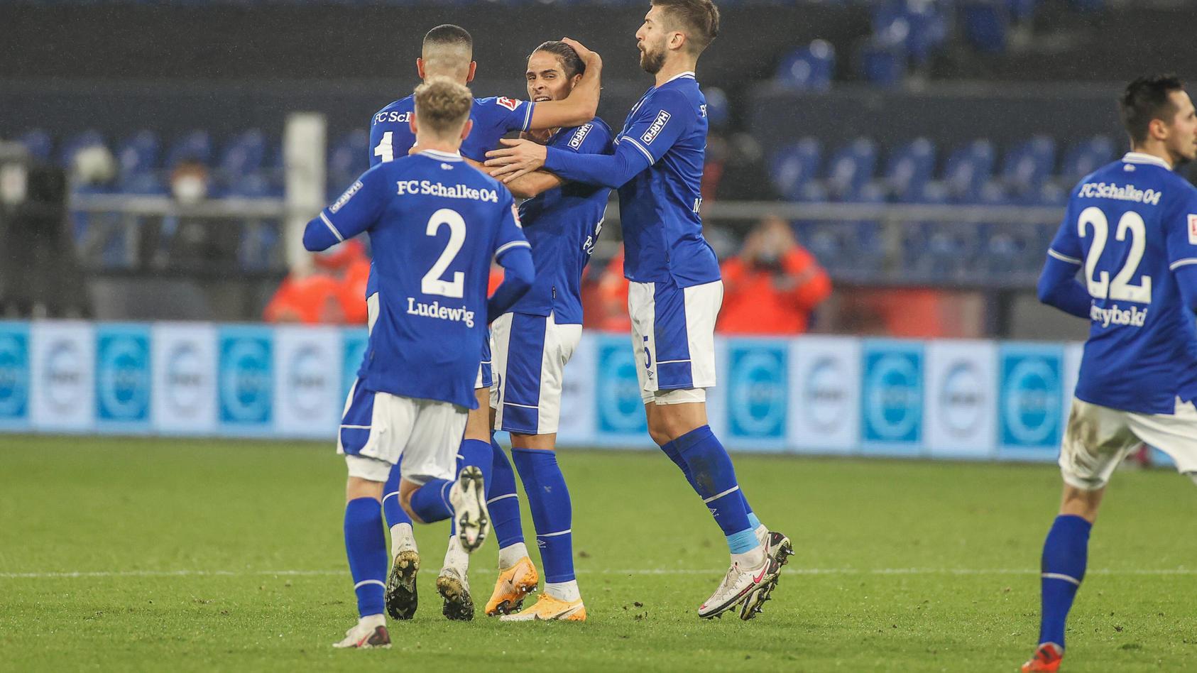 FC Schalke 04 - Union Berlin 18.10.2020, Fussball, Saison 2020/2021, 1. Bundesliga, 4. Spieltag, FC Schalke 04 - Union