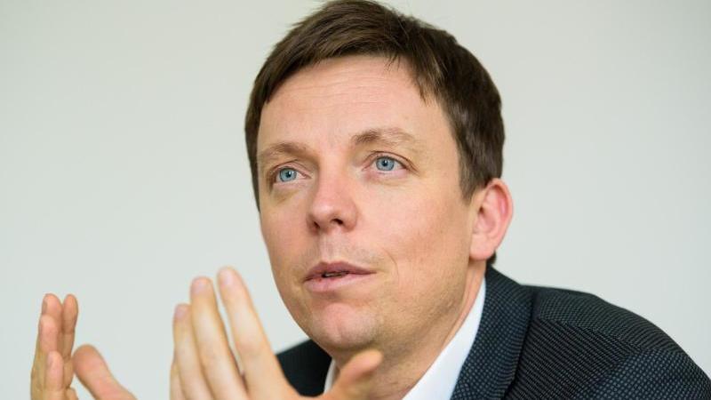 Tobias Hans (CDU), Ministerpräsident des Saarlandes. Foto: Oliver Dietze/dpa/Archivbild