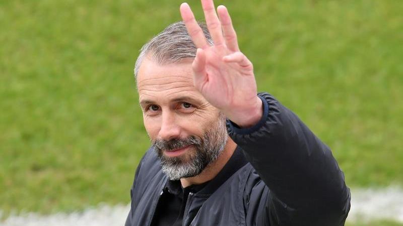 Mönchengladbachs Trainer Marco Rose. Foto: Torsten Silz/dpa