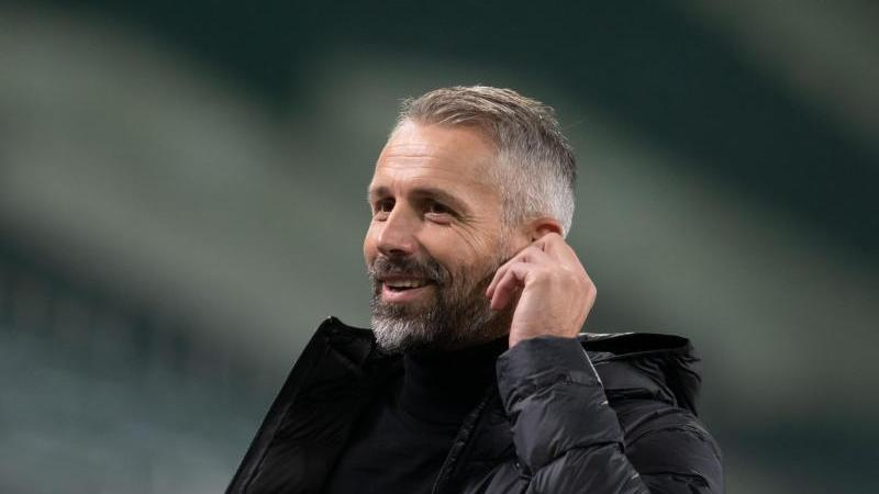 Mönchengladbachs Trainer Marco Rose. Foto: Bernd Thissen/dpa/Archivbild