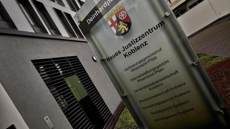Das Justizzentrum in Koblenz. Foto: Thomas Frey/dpa/Archivbild