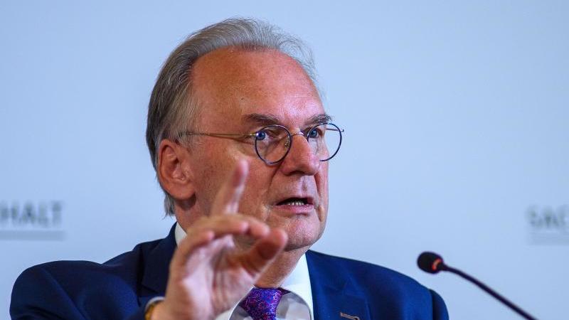 Reiner Haseloff, der Ministerpräsident des Landes Sachsen-Anhalt. Foto: Klaus-Dietmar Gabbert/dpa-Zentralbid/dpa/Archivbild
