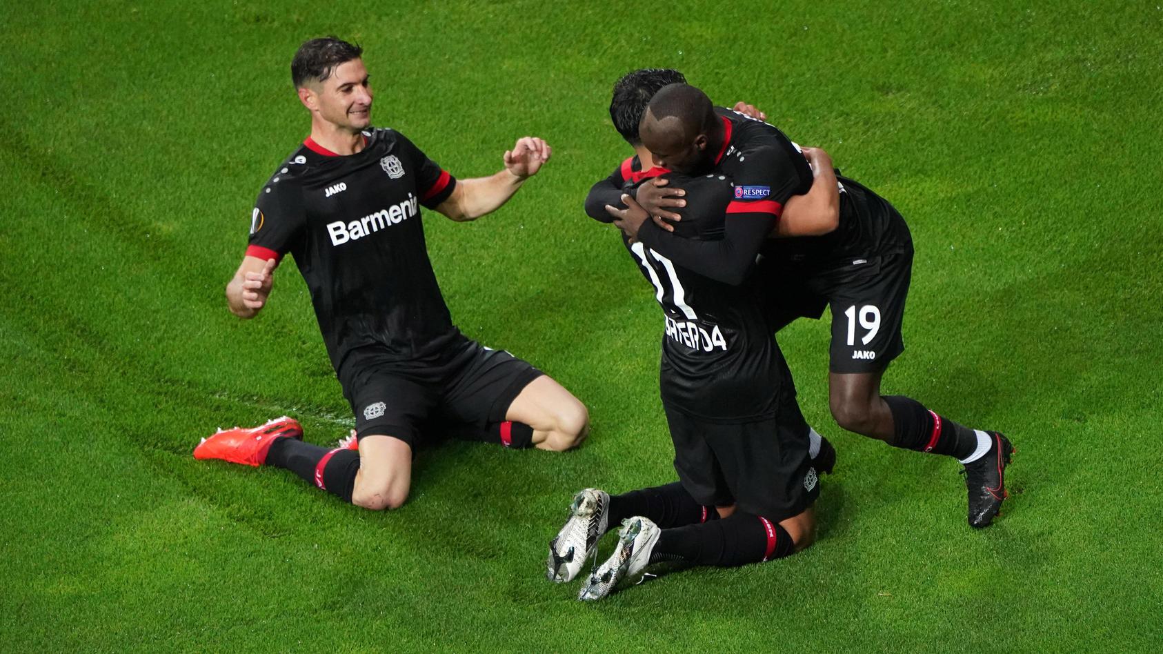 Europa League: Slavia Prag gegen Bayer Leverkusen online im Live-Stream auf TVNOW sehen