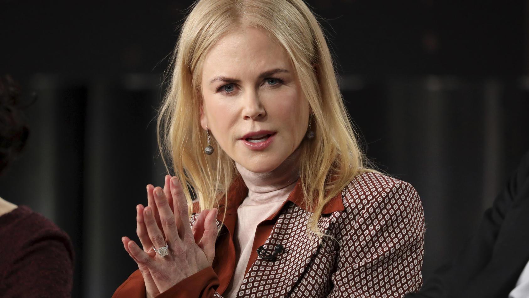 Nicole Kidman möchte ihre Töchter von Instagram fernhalten