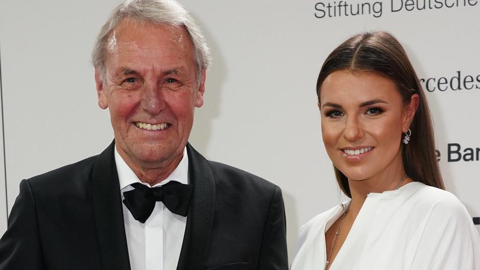 Jörg und Laura Wontorra haben ein gutes Vater-Tochter-Verhältnis.