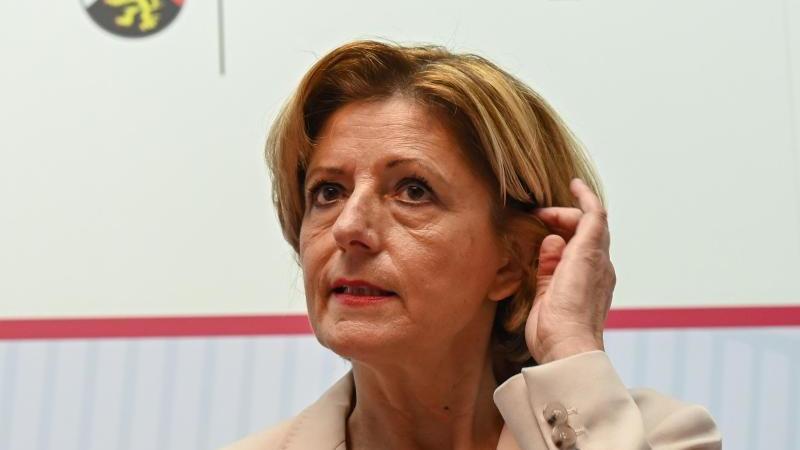 Malu Dreyer (SPD), Ministerpräsidentin des Landes Rheinland-Pfalz. Foto: Arne Dedert/dpa/Archivbild