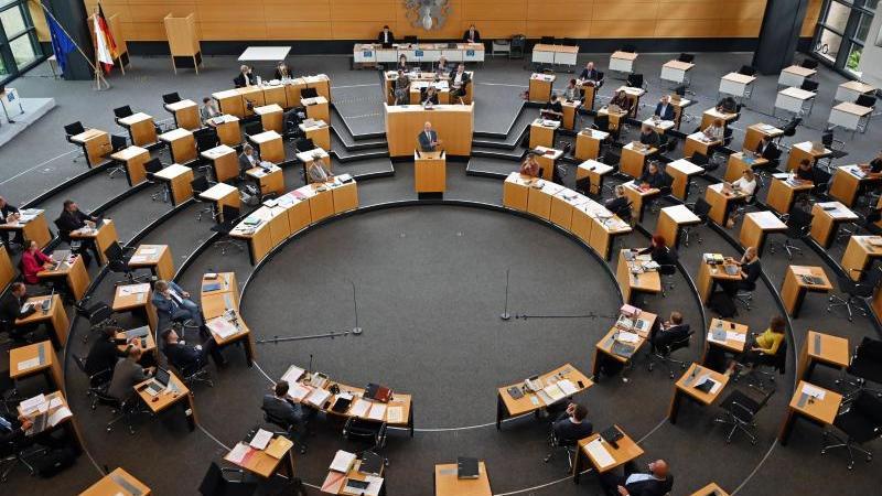 Landtagssitzung im Thüringer Landtag. Foto: Martin Schutt/dpa-Zentralbild/dpa/Archivbild