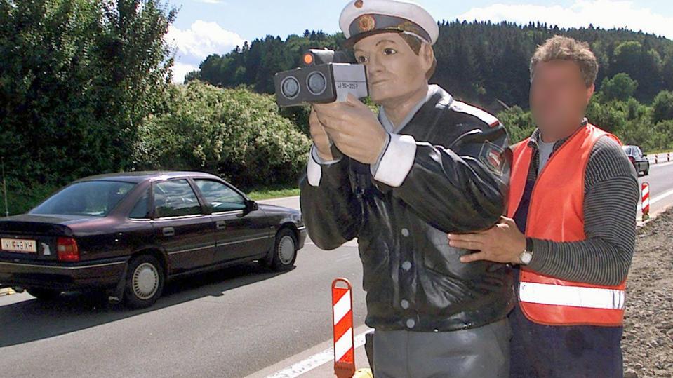 Radarkontrolle in Österreich (Symbolfoto)
