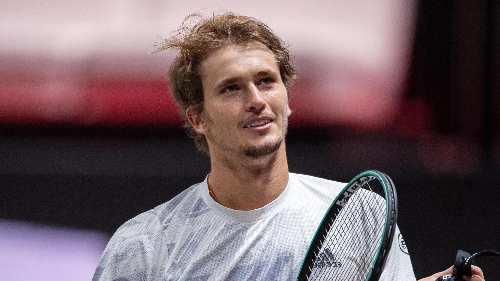 Freut sich auf den Nachwuchs: Tennisstar Alexander Zverev.