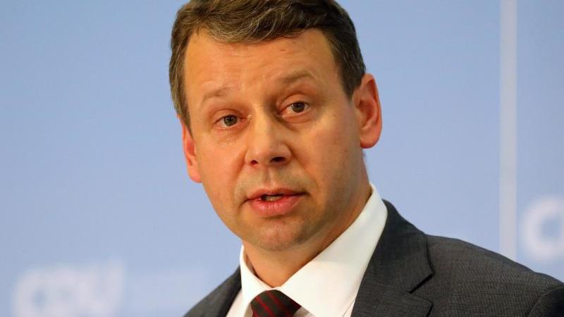 CDU-Landesvorsitzende Michael Sack von Mecklenburg-Vorpommern. Foto: Bernd Wüstneck/dpa-Zentralbild/dpa/Archivbild
