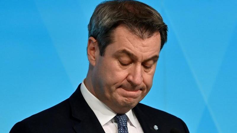 Markus Söder, der Ministerpräsident von Bayern. Foto: Peter Kneffel/dpa