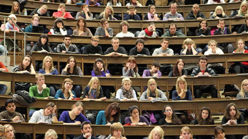 Ansturm auf Universitäten