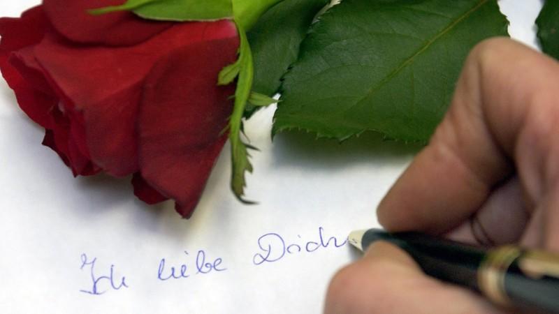 Schatz dich liebesbrief ich liebe mein Liebesbrief Vorlage: