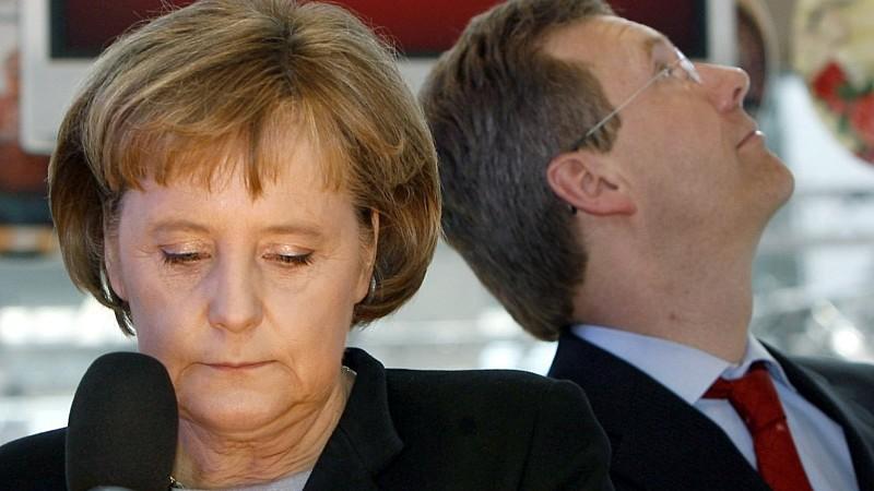Merkel, Wulff