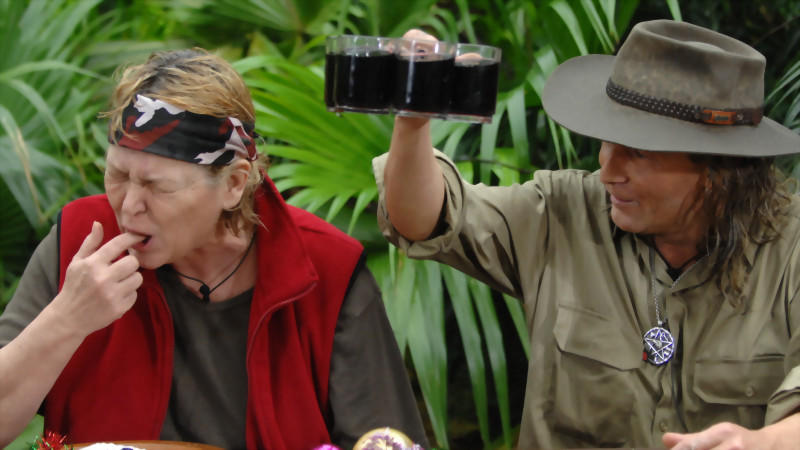 Dschungelcamp 2012 Kandidaten Ramona Leiß und Vincent Raven