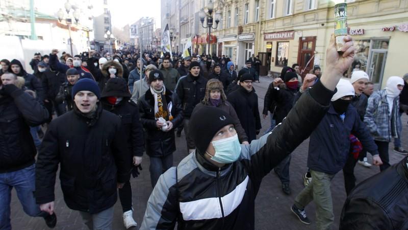 Die Putin-Gegner geben nicht auf: Sie fordern eine Wiederholung der Abstimmung.