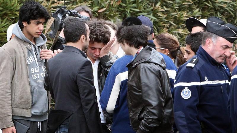 Toulouse Anschläge jüdische Schule Waffe