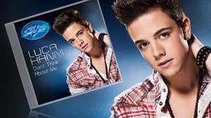 """Der Siegersong 2012 """"Don't Think About Me"""" von Superstar Luca Hänni gibt es jetzt zum Downloaden."""