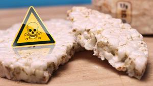 Schadstoffe in Reiswaffeln gefunden