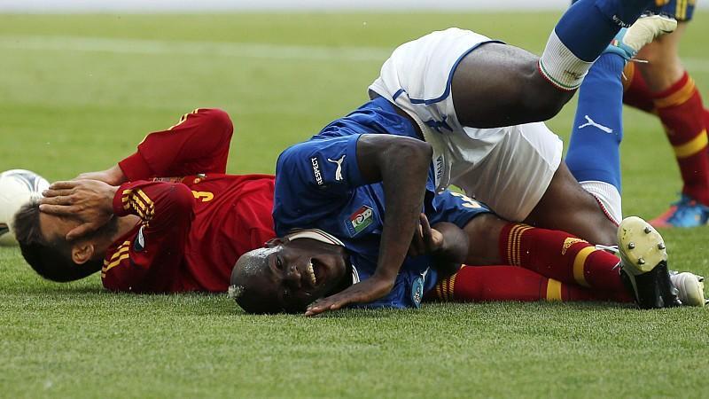 Beim Weltmeister-Gipfel zwischen Spanien und Italien gab es keinen Sieger.